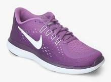 b9438bb6322c Nike Flex 2017 Rn Purple Running Shoes for women - Get stylish shoes ...