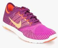 1f1dcb69716c Nike Flex Adapt Tr Purple Training Shoes for women - Get stylish ...