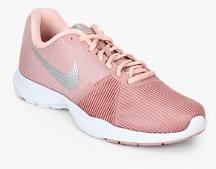 18a7a7953aac Nike Flex Bijoux Peach Training Shoes for women - Get stylish shoes ...