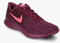 Nike Flex Contacto Vino Corriendo Elegantes Zapatos Para Las Mujeres Elegantes Corriendo Zapatos 5e0078