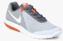 0e696576eccf Nike Flex Experience Rn 6 Light Grey Running Shoes for Men online in ...
