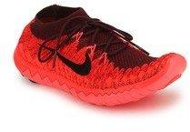 6708544a072 Nike Free 3.0 Flyknit Maroon Running Shoes for women - Get stylish ...
