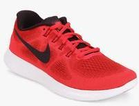 fe4213b1a8227 Nike Free Rn 2017 Red Running Shoes for women - Get stylish shoes ...