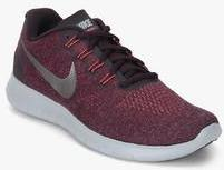 83c6a181736f Nike Free Rn 2017 Wine Running Shoes for Men online in India at Best ...