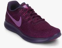premium selection 4df52 2274d Nike Free Rn 2017 Wine Running Shoes women
