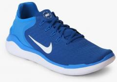 4958929e57f Nike Free Rn 2018 Blue Running Shoes for Men online in India at Best ...
