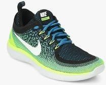 new concept 1d977 acd0c Nike Free Rn Distance 2 Green Running Shoes men