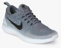 new product a646e 0e496 Nike Free Rn Distance 2 Grey Running Shoes men