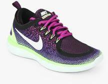 Nike Free Rn Distance 2 Purple Running Shoes for women - Get stylish shoes  for Every Women Online in India 2019  5d0b8722ec022