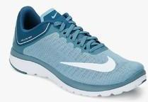 check out 56748 7b4e7 Nike Fs Lite Run 4 Blue Running Shoes men
