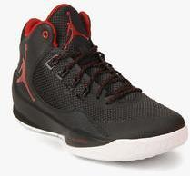 competitive price dab4c 9628c Nike Jordan Rising High 2 Black Basketball Shoes men