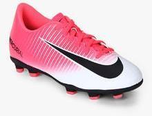 6aa2d28ada4 Nike Jr Mercurial Vortex Iii Fg Pink Football Shoes for Boys in ...