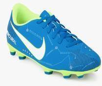 f9ec2b86f Nike Jr Mercurial Vortex Iii Njr Fg Blue Football Shoes for Boys in ...