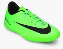 new product 60a6a 944fe Nike Jr Mercurialx Victory Vi Ic Green Football Shoes boys