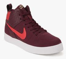 e1c383094a4 Nike Liteforce Iii Mid Maroon Sneakers men