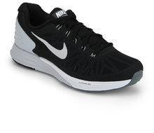 best sneakers 05ae8 76938 Nike Lunarglide 6 Black Running Shoes men