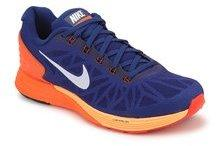 reputable site 1d4bc 7be0a Nike Lunarglide 6 Navy Blue Running Shoes men
