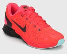 nice shoes acad8 534b5 Nike Lunarglide 6 Red Running Shoes women