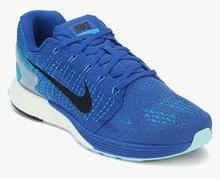 sports shoes 0eb20 96bd1 Nike Lunarglide 7 Blue Running Shoes men