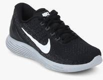 best authentic 02448 92273 Nike Lunarglide 9 Black Running Shoes women