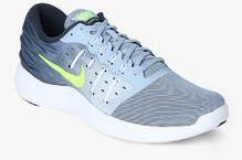 100% authentic e4897 fcfa0 Nike Lunarstelos Blue Running Shoes for Men online in India at Best ...