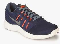 new style 0c812 94347 Nike Lunarstelos Navy Blue Running Shoes for Men online in India at ...