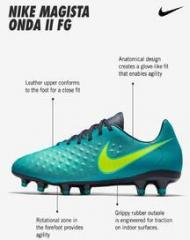 b397933e4 Nike Magista Onda Ii Fg Green Football Shoes for Men online in India at Best  price on 27th May 2019