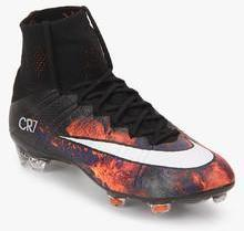 Nike Mercurial Superfly Cr Fg Black Football Shoes Men