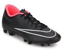 9e432b156511dc Nike Mercurial Vortex Ii Fg Black Football Shoes for Men online in ...