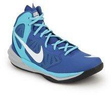 Nike Prime Hype Df Blue Basketball Shoes For Men Online In
