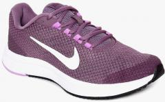 Nike Purple RUNALLDAY Running Shoe for
