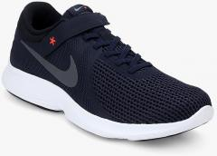 54e6869ffc9 Nike Revolution 4 Flyease Blue Running Shoes for Men online in India at  Best price on 2nd May 2019