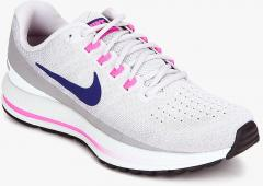 7c6acb7d2ee Nike Woair Zoom Vomero 13 Grey Running Shoes for women - Get stylish shoes  for Every Women Online in India 2019