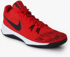 sale retailer f4a35 ce901 Nike Zoom Evidence Ii Red Basketball Shoes for Men online in India at Best  price on 22nd May 2019,   PriceHunt