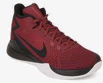 a1d3df4803dbcb Nike Zoom Evidence Maroon Basketball Shoes for Men online in India ...