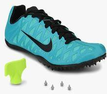 separation shoes 9d232 db33f Nike Zoom Maxcat 4 Blue Running Shoes women