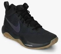 new arrival 9c1a4 e61b5 Nike Zoom Rev Black Basketball Shoes men