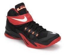 Nike Zoom Soldier Viii Black Basketball Shoes for Men online in ... 6b11bb047