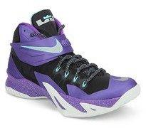 c7f8f4895a6e86 Nike Zoom Soldier Viii Purple Basketball Shoes for Men online in ...