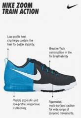 238ed55881e7 Nike Zoom Train Action Black Training Shoes for Men online in India ...