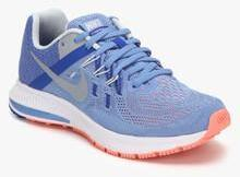 Nike Zoom Winflo 2 Blue Running Shoes for women - Get stylish shoes for  Every Women Online in India 2019  72a7845d8