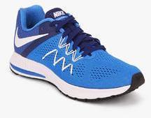 on sale 97d02 c5fc3 Nike Zoom Winflo 3 Blue Running Shoes men