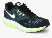 017cfd0da935fc Nike Zoom Winflo 4 Black Running Shoes for Men online in India at Best price  on 31st March 2019