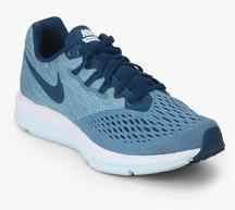 finest selection ae82f 87ecc Nike Zoom Winflo 4 Blue Running Shoes women