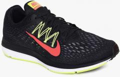 4aefef75 Nike Zoom Winflo 5 Black Running Shoes for Men online in India at ...