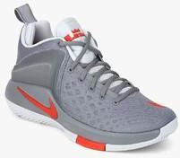 36e7737f6a48 Nike Zoom Witness Grey Basketball Shoes for Men online in India at Best  price on 12th May 2019