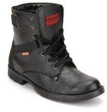 1e658a41d2a Provogue Black Boots for Men online in India at Best price on 24th ...