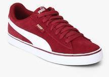 puma maroon sneakers