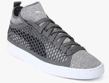 Puma Basket Classic Netfit Grey Sneakers for Men online in India at Best  price on 1st April 2019 28d05778b
