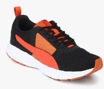 online store b9abd a7a99 Puma Deng Black Running Shoes men